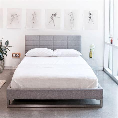 sleek  simple gus modern beds kw home