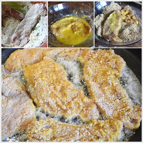 cuisiner une escalope de dinde escalope de dinde panée et potatoes maison recette de