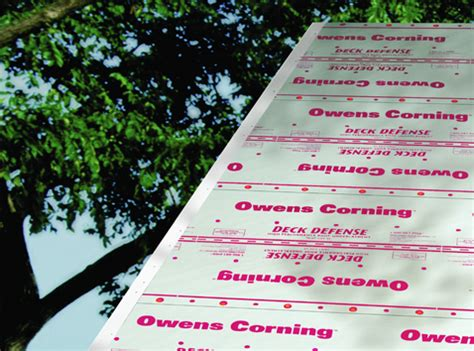 Owens Corning Deck Defense Synthetic Underlayment by Deck Defense 174 High Performance Roof Underlayment Owens