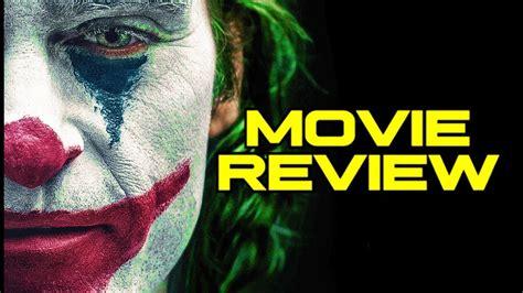 joker  review  joaquin phoenix youtube