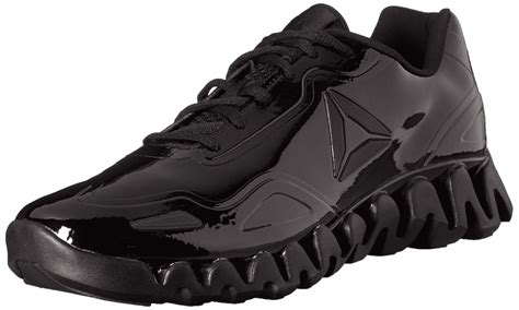 Reebok Zig SE Patent Leather Court Shoes — Purchase