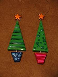 polymer clay ornaments a clay model molding on cut out