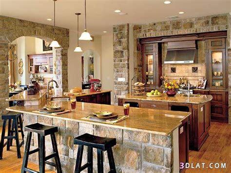 southern kitchen design ديكورات مطابخ من الحجر والخشب ريموووو 2407