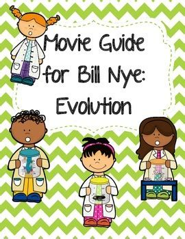 Video Worksheet (movie Guide) For Bill Nye  Evolution By Seriously Science