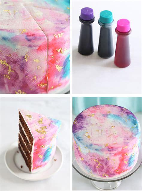 water color cake watercolor graffiti chocolate cake sprinkle bakes
