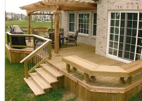 Home Deck Design Ideas by Backyard Decks Design Ideas Interior Exterior Home