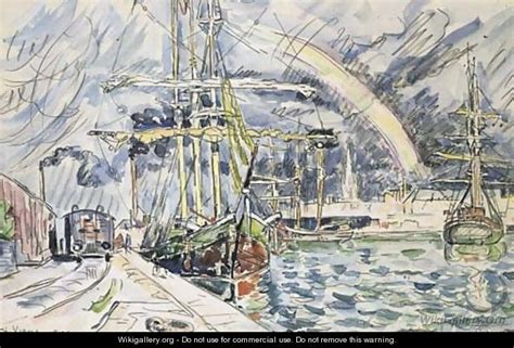 port de st malo le port de st malo paul signac wikigallery org the largest gallery in the world