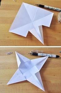Papiersterne Basteln Anleitung : 3d papiersterne falten anleitung dekoking diy ~ Lizthompson.info Haus und Dekorationen