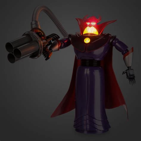 disney store toy story talking light  emperor zurg