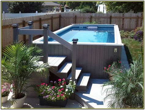25+ Best Ideas About Above Ground Pool Landscaping On