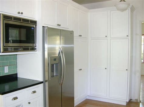 Built In Microwave & Counter Depth Refrigerator (Cultivate