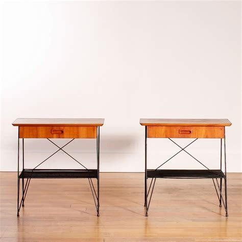 vintage table ls 1950s pair of vintage side tables 1950s 50106