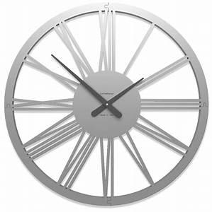 Horloge Murale Moderne : horloge chiffre romain pompei ~ Teatrodelosmanantiales.com Idées de Décoration