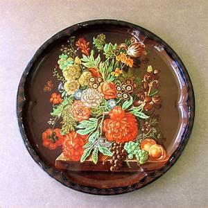 Daher Decorated Vintage Tin Tray TipTop Vintage