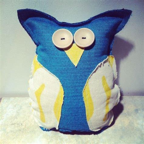 upcycled scrap fabric stuffie     mew plushie