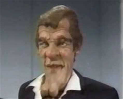 roger moore eyebrows spitting image roger moore spitting image wiki fandom powered by wikia