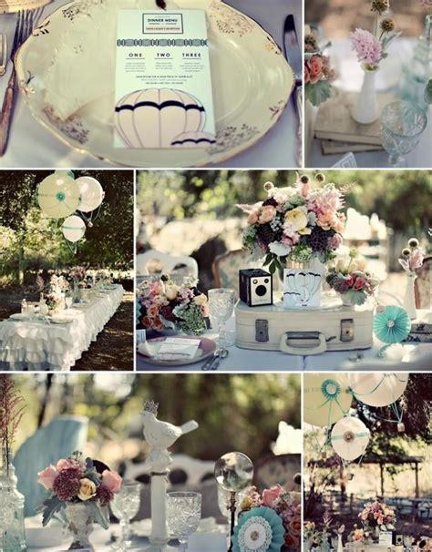 deco mariage vintage d 233 coration de mariage vintage un mariage r 233 tro 192 lire