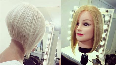 hairdresser education step by step short bob haircut