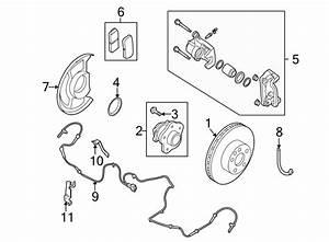 Nissan Altima Abs Wheel Speed Sensor Bracket  Rear  Upper