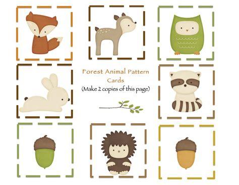forest animals preschool theme preschool printables forest animals printable 119