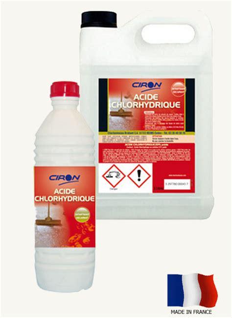 quincaillerie de cuisine acide chlorhydrique 23 achat dtartrant acheter ph