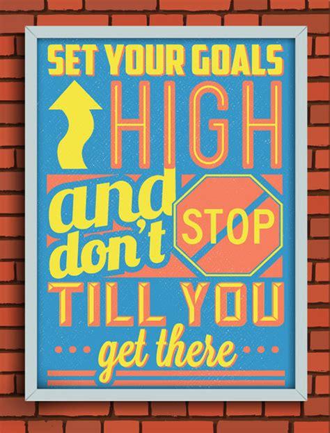 retro vintage motivational typography quotes designbolts