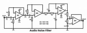 3 band audio equalizer circuit for Noise filter circuit diagram