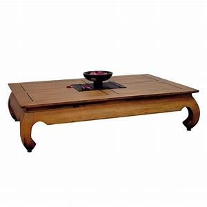 Table Basse Bois Pas Cher : table basse chinoise pas cher le bois chez vous ~ Carolinahurricanesstore.com Idées de Décoration
