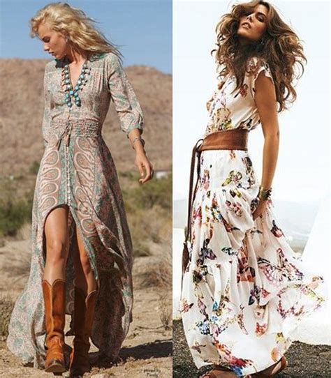 Boho Chic Kleid Summer Maxi Dresses Sundresses Styles Ideas