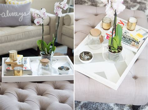 Eightchairs/opposite the door/a round table/ there is/and 4.new/his family/a vacuum cleaner/has got 5.on/a lot of/there are/pictures/the walls 6. Inspiring Style: DIY Coffee Table Tray | Oh to Be a Muse