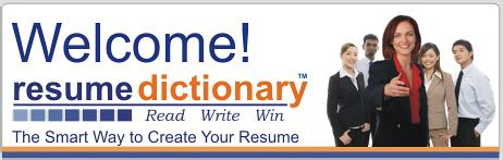 Resume Dictionary by Resume Writing Made Easier With Resume Dictionary