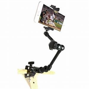 Roll Chart Holder Mount Securegrip Metal Iphone Universal Smartphone Tripod Mic