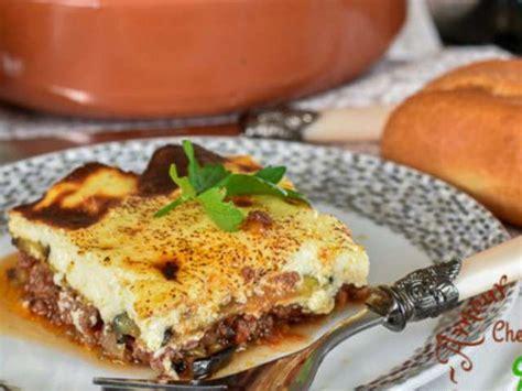 cuisine grecque moussaka recettes d 39 aubergines et viande hachée