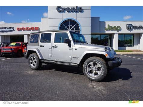 jeep silver 2016 2016 billet silver metallic jeep wrangler unlimited sahara