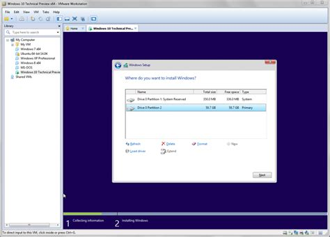 try windows 10 tech preview with vmware workstation and fusion vmware workstation zealot