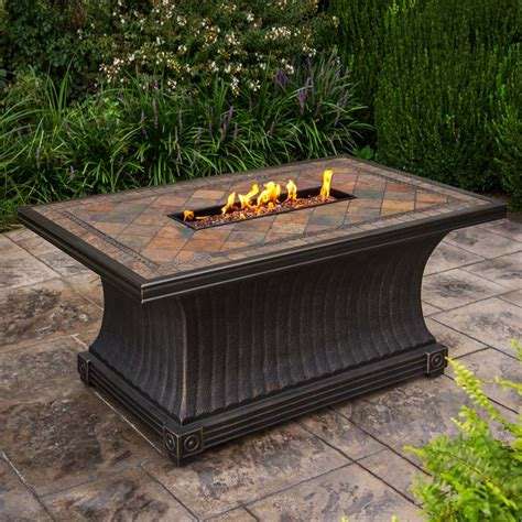 agio fire pit table agio vienna gas fire pit tile fire table starfire direct