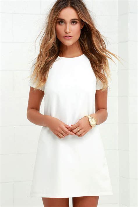 3 4 sleeve lace a line mini dress white dresses white dresses for