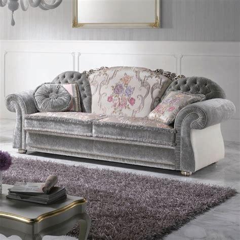 canape romantique canapé 2 places en tissu de design italien fait