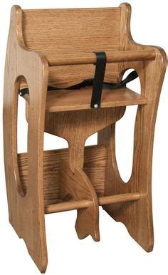 amish 3 in 1 high chair plans rockin diy furniture and wood projects