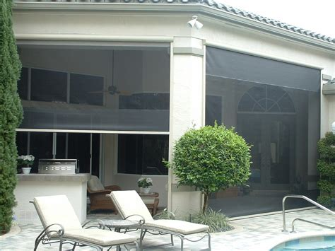 roll up insect screen promenade screens