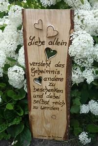Sprüche Auf Holz : holzschild rustikales holzbrett neu in szene gesetzt von annegret lindhorst bei ~ Orissabook.com Haus und Dekorationen