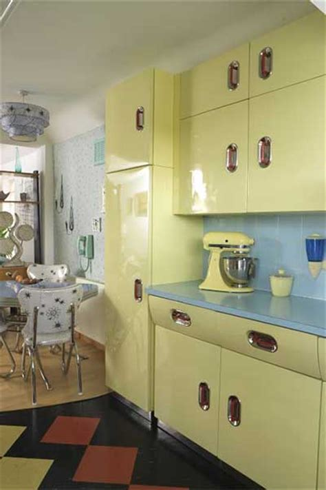 How To Create A Retrostyle Kitchen  Real Homes