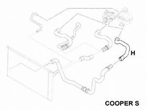 Mini Cooper Radiator Hose Coolant Hose Oem Gen2 R5