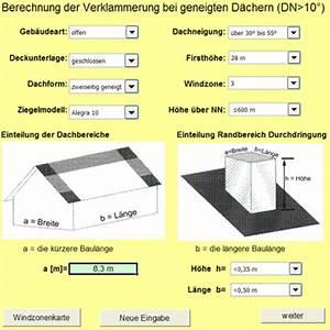 Firsthöhe Berechnen : sturmsicherung auf 39 m ziegeldach sturmfix berechnung per software sturmklammerung excel ~ Themetempest.com Abrechnung