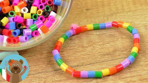 creare ladari fai da te braccialetto con perline fai da te facile creare