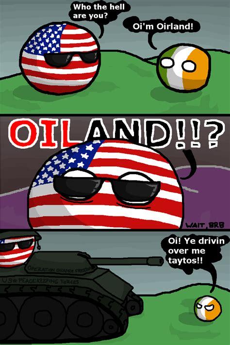 Country Ball Memes - irish shenanigans usa ireland by stop times polandball countryball polandball