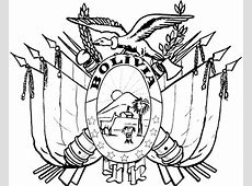 Dibujo De Escudo De Bolivia 1