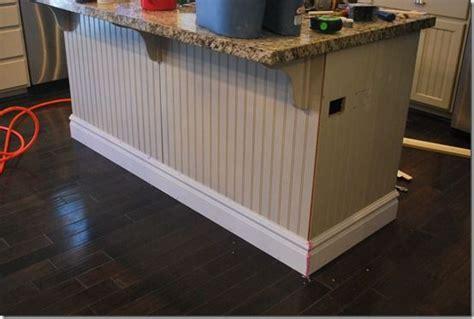 kitchen island molding baseboard molding around kitchen island for the home pinterest