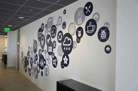 Wall Mural Ideas Office by 23 Creative Wall Decals Ideas For Office 14 Is Most