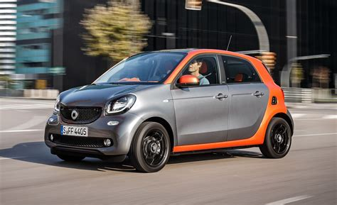 2015 Smart Forfour First Drive